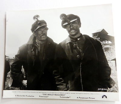 SEAN CONNERY Original Movie Film PHOTO 8 x 10 The MOLLY MAGUIRES 1970 ak65