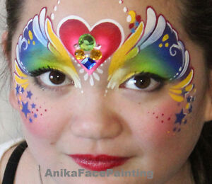 FACE PAINTING and Glitter Tattoo by Anika