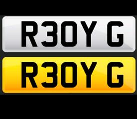 R3OYG ( READY G ) Private Plate