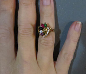 Multicolored gold ring Cornwall Ontario image 1