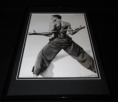 Benjamin Bratt 1999 Framed 11x17 Photo Poster Display