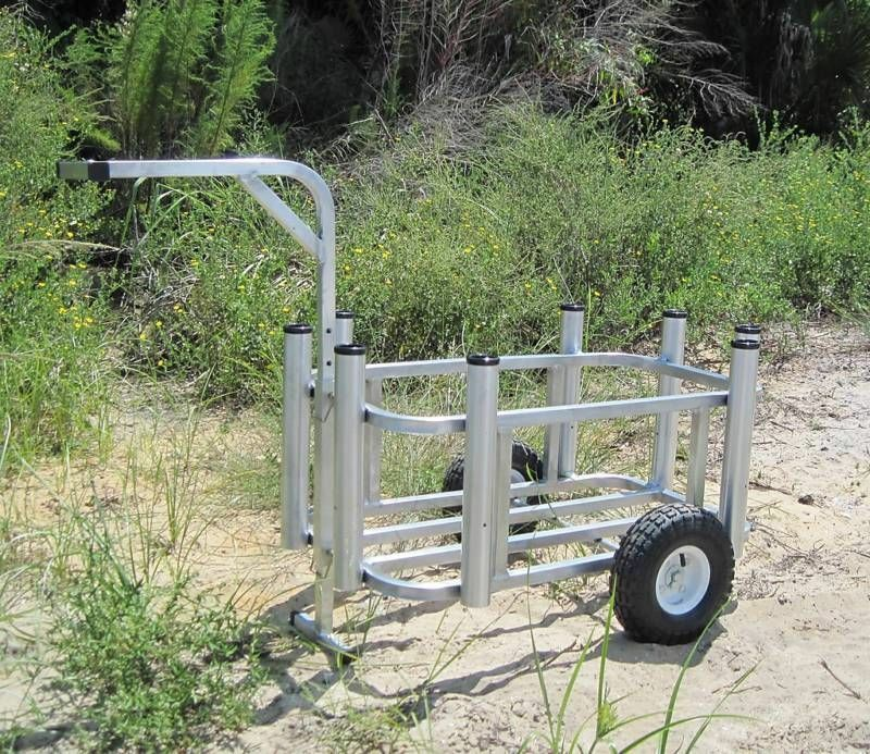 How to build a fishing cart ebay for Make your own fishing rod