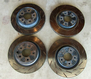 EBC Slotted Rotors for 350Z Brembo Brakes