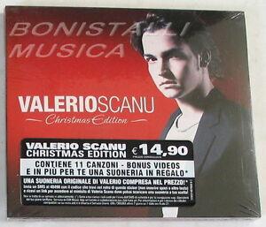 VALERIO-SCANU-CHRISTMAS-EDITION-CD-Sigillato-Bonus-Videos
