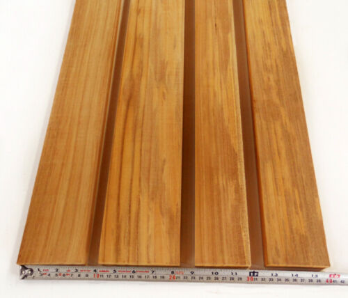 "10 Board Feet of 100% heartwood teak lumber 1"" thick"