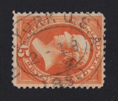 Us  189 Bank Note 15C Webster Sotn New York 2 18 1890 Cancel   Cole Vl 3
