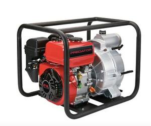 HOC - 3 INCH 212CC GASOLINE ENGINE SEMI TRASH WATER PUMP - 290 GPM + 90 DAY WARRANTY + FREE SHIPPING