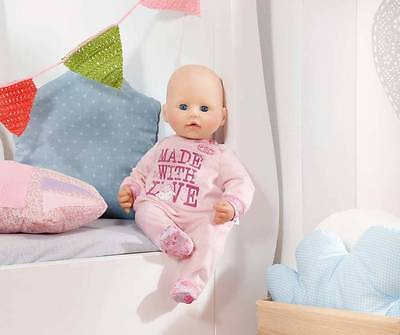 Zapf Creation 794548 Baby Annabell Strampler rosa Made with Love  NEUHEIT 2016-