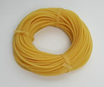 10 Feet - 18 - Latex Rubber Tubing - Surgical Grade - New