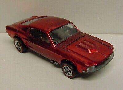 Mattel Hot Wheels original Redline RED Custom Mustang