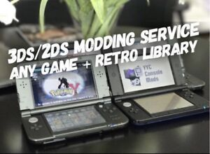 ⚡️ 2DS and 3DS Modding Service - Any Game + Retro Library