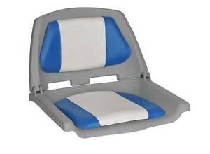 FOLDING CUSHIONED BOAT SEATS - ONLY $ 49.00 - AT DINGHY WORLD Como South Perth Area Preview