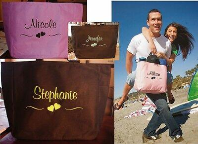 1 TOTE Bag  BRIDESMAID HEART SCROLL BRIDAL SHOWER * BRIDE ON WEDDING BUDGET Budget Tote Bag