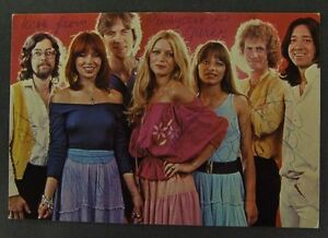 PUSSYCAT promo card with this dutch band members autographs !! - <span itemprop=availableAtOrFrom>europe, Polska</span> - Zwroty są przyjmowane - europe, Polska