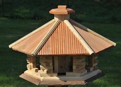 vogelhaus aus holz vogelhäuschen vogelhäuser vogelfutterhaus, Moderne