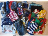 Huge Bundle Of Boys 5 6 7 8 Years Clothes