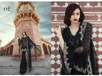 Maria b Luxury Chiffon Unstiched MBROIDED collection