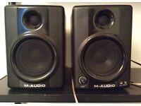 M AUDIO Studiophile AV 40 Speakers