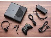 Xbox E 360 with 2 Pads and cables and 20+ games including GTA 5
