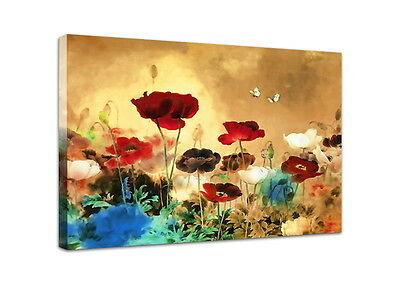 Canvas Print Painting Pictures Photo Poster Wall Art Flower Landscape Home -