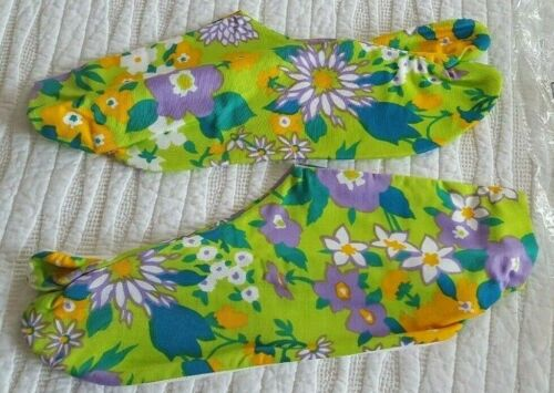 Vintage Japanese Kimono Socks/ Tabi Socks/ Made in Japan/ Women