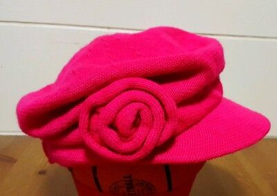 The Childrens Place Beetroot Newsgirl Cap Size M 12  24 Months Euc