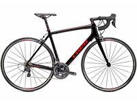 Trek Émonda S6 2015 Black / Red Road Bike 56cm - mint condition