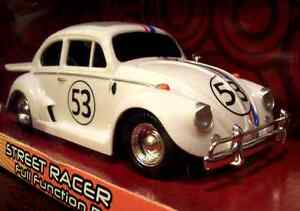 RARE HERBIE THE LOVE BUG FULLY LOADED STREET RACER RC R/C RADIO REMOTE CONTROL