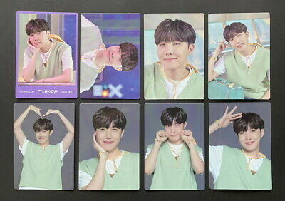 BTS-LOT OF 8 SOWOOZOO 2021 MUSTER OFFICIAL MINI PHOTO CARD SET JHOPE DBALL