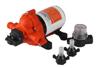 Seaflo 2.8 gpm Marine Water Pump RV BOAT 12V Replaces SHURFLO 2088-422-444
