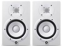 "Yamaha HS8 Monitors NEW "" White """