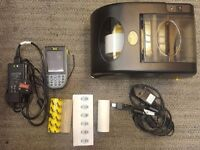 Wasp Barcode printer and handheld computer and scanner for STOCK check for sale