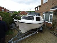 2007 Mazury mg485 Boat - Ideal for days out fishing or cruising on sea or river