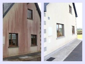 DO NOT POWERWASH YOUR ROOF OR WALLS. RED, GREEN OR BLACK STAINS? 100% GUARANTEED RESULTS.