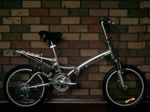 ALLOY Folding Bike, 6 Speed, H/Duty Model, DUAL Suspension. Windsor Gardens Port Adelaide Area Preview