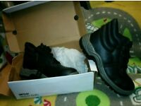 Safety boots UK size 8