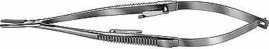 Storz E3850 Castroviejo Needle Holder 12mm Straight Locking