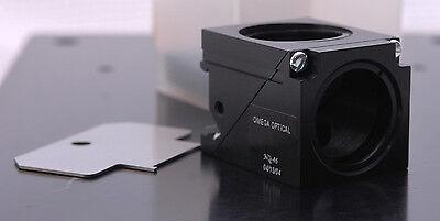 Omega Optical Xc102 Blank Filter Cube-nikon Eclipse E Te Lv Diaphot Labophot Nos