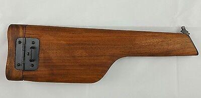 WH-Mauser-C96-Anschlagschaft Holster 1916 Holz