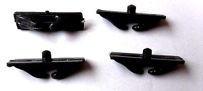 Model Boat/Ship Fitting Accessories Faileads  x4   (Plastic)