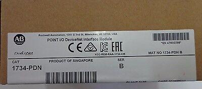 New Allen Bradley 1734-pdn Point Io Devicenet Interface Module Ser B 052016