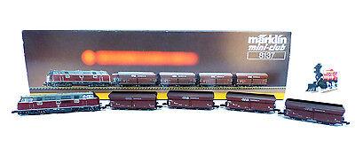 Märklin 8137 Spur Z -  Güterzug mit 4 RAG Kohlewagen, 5-tlg., DB, TOP / OVP
