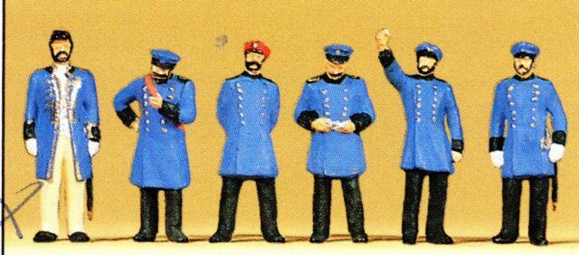 Königl. Preuß.Bahnpers.Um 1900 Preiser 12130 Figuren Spur HO (16,5 mm) Zubehör