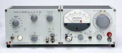 Gr General Radio 1232-a Null Detector 1311-a Audio Oscillator Aka 1240-a