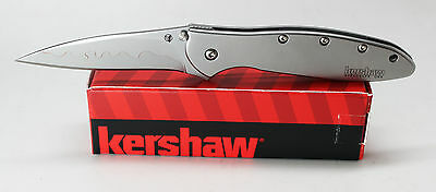 Kershaw Composite Blade Leek Assisted Opening  Knife 1660CB Made in the USA ()