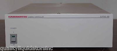 Hamamatsu Camera Controller C4742-95 -12nr Nice
