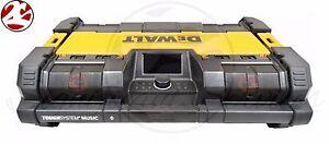 New DeWALT DWST08810 20V MAX ToughSystem Jobsite Radio Worksite Battery Charger