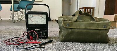 Vintage Simpson Electric 260-8 Analog Multimeter