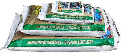Wiggle Worm Earthworm Worm Castings Organic 1lb-15lbs