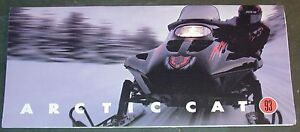 "1993 ARCTIC CAT THUNDERCAT SNOWMOBILE SALES BROCHURE 4"" x 8 1/2"" (214)"